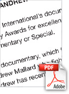 Download Saving Andrew Mallard Walkley Award Nomination Web Article (Src Screenwest) - Michael Muntz, Corporate, Films, Videos, Training, Promotional, Commercials, Budget, Perth, Western Australia